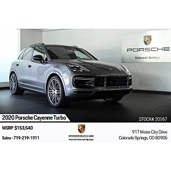 2020 Porsche Cayenne Turbo for sale 101363484