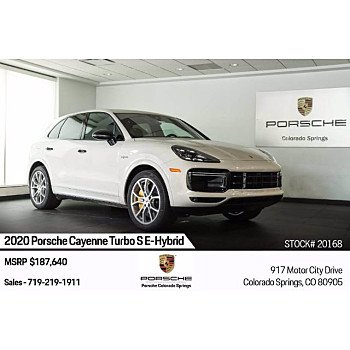 2020 Porsche Cayenne for sale 101363954