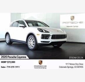 2020 Porsche Cayenne for sale 101366718