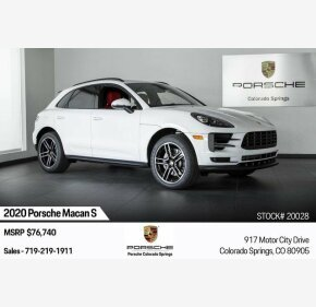 2020 Porsche Macan s for sale 101217076
