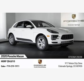 2020 Porsche Macan for sale 101229514