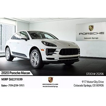 2020 Porsche Macan for sale 101390700