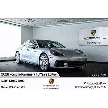 2020 Porsche Panamera for sale 101402229
