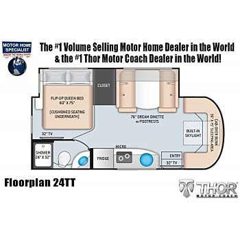 2020 Thor Tiburon for sale 300213212