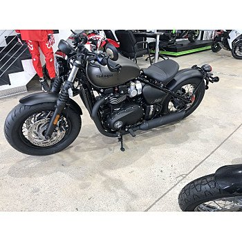 2020 Triumph Bonneville 1200 Bobber Black for sale 200862200