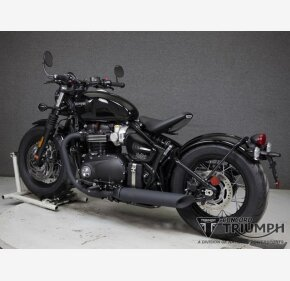 2020 Triumph Bonneville 1200 Bobber Black for sale 201069892