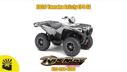 Used 2014 Yamaha Grizzly 700 Fi Auto 4x4 Eps Special Edi