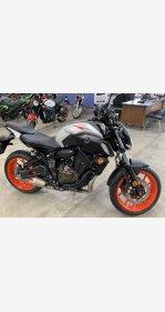 2020 Yamaha MT-07 for sale 200853092