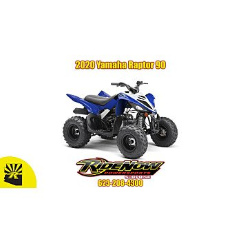 2020 Yamaha Raptor 90 for sale 200808544