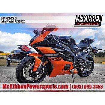 2020 Yamaha YZF-R6 for sale 201024537