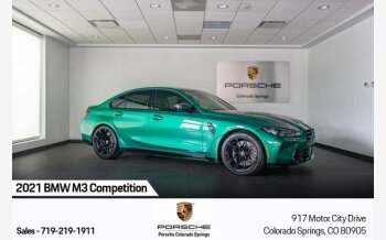 2021 BMW M3 Competition for sale 101542170
