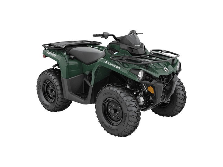 2021 Can-Am Outlander 400 DPS 450 specifications