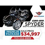 2021 Can-Am Spyder F3 for sale 201038523