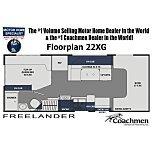 2021 Coachmen Freelander for sale 300224005