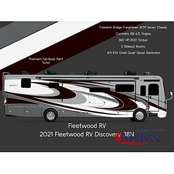 2021 Fleetwood Discovery for sale 300275639