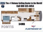 2021 Fleetwood Fortis for sale 300276067