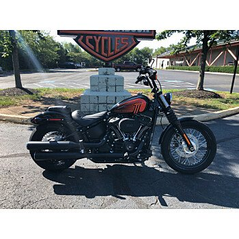 2021 Harley-Davidson Softail Street Bob 114 for sale 201160477