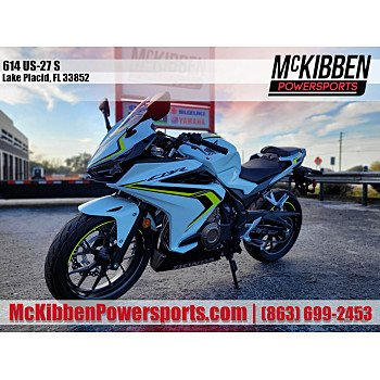 2021 Honda CBR500R for sale 201025419