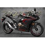 2021 Honda CBR500R for sale 201057979