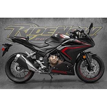 2021 Honda CBR500R for sale 201072184