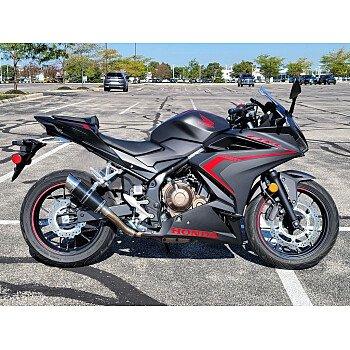 2021 Honda CBR500R for sale 201164268