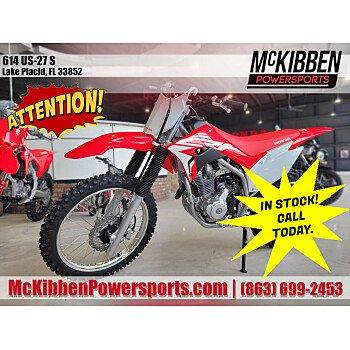 2021 Honda CRF250F for sale 201000395