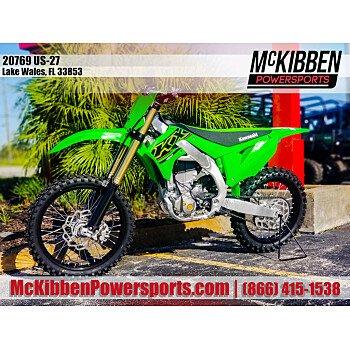 2021 Kawasaki KX450 for sale 201143691