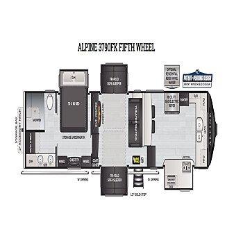 2021 Keystone Alpine for sale 300274481