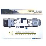 2021 Keystone Raptor for sale 300250869