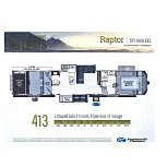 2021 Keystone Raptor for sale 300250905