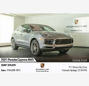 2021 Porsche Cayenne for sale 101407998