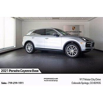 2021 Porsche Cayenne for sale 101541390