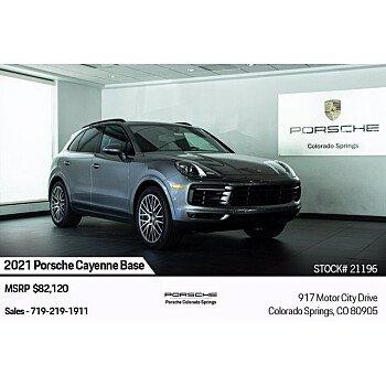 2021 Porsche Cayenne for sale 101567090