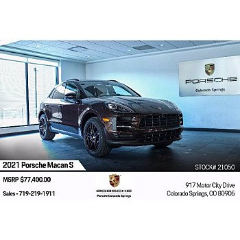 2021 Porsche Macan S for sale 101421415