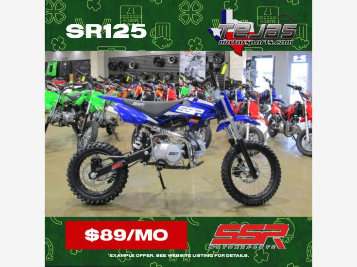 2021 SSR SR125 for sale 201046812
