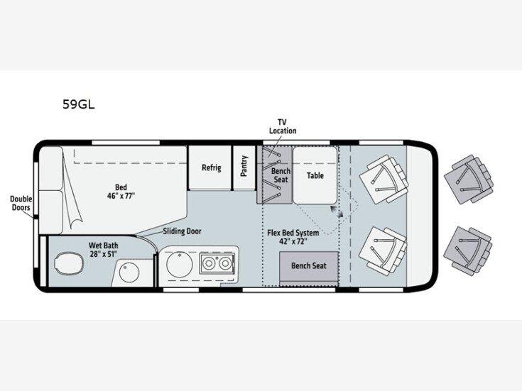 2021 Winnebago Travato for sale 300275232