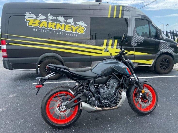 2021 Yamaha MT-07 for sale 201119300