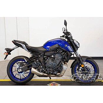 2021 Yamaha MT-07 for sale 201179550