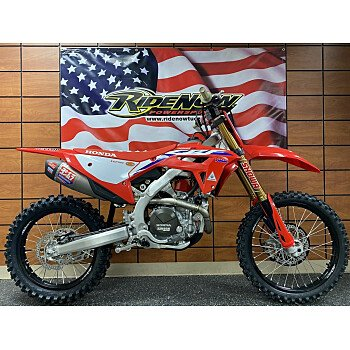 2022 Honda CRF450R WE for sale 201166570