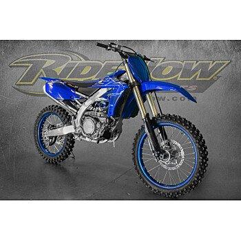2022 Yamaha YZ450F for sale 201121105