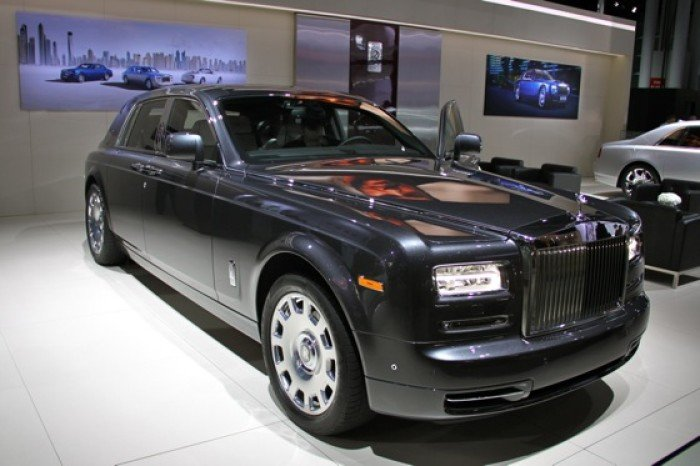 2013 Rolls-Royce Phantom Series II: New York Auto Show