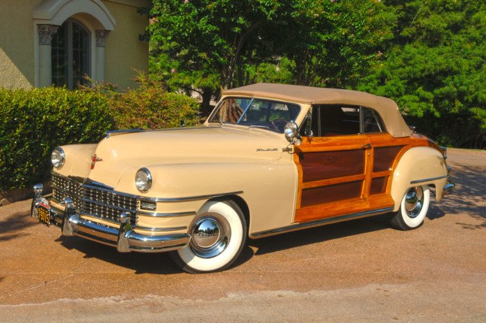 9 Daring Designs - 1948 Chrysler Town and Country Convertibles