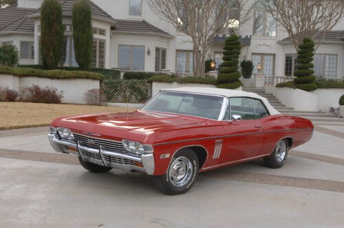 Dare to Be Different - 1968 Chevy Impala SS 427