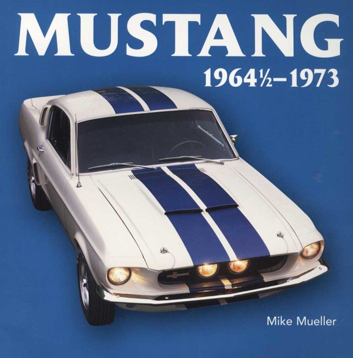 Book Preview: Mustang 1964 1/2 -1973
