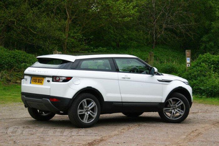 Range Rover Evoque Pure Coupe