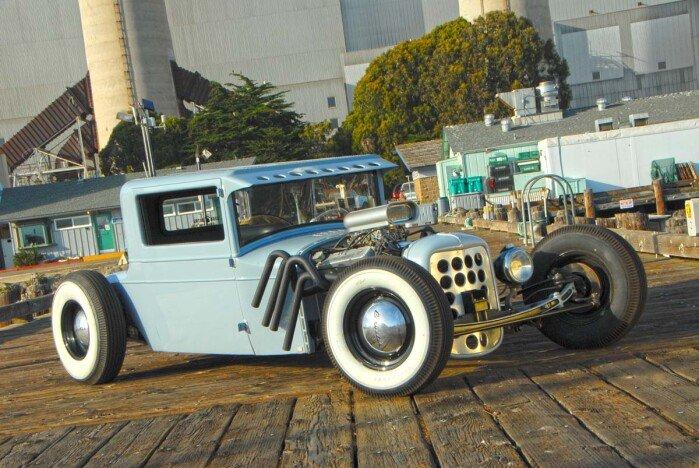 """Rivet City"" 1927 Chrysler 3 Window Coupe"