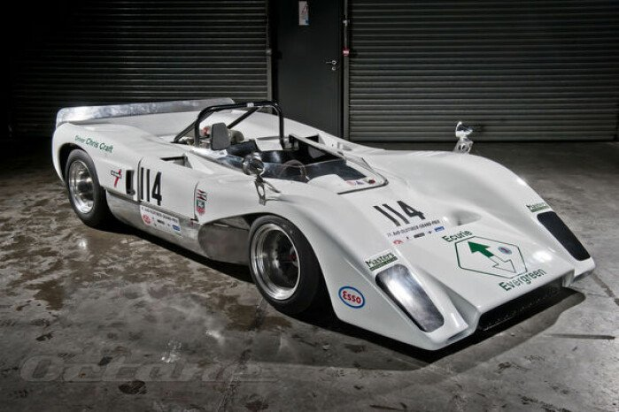 The 1969 Evergreen McLaren M8C