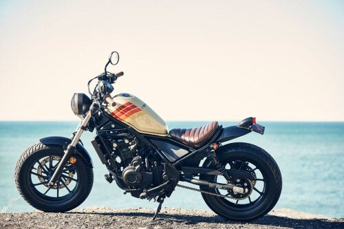 Refreshed 2017 Honda Rebel Debuts at South by Southwest