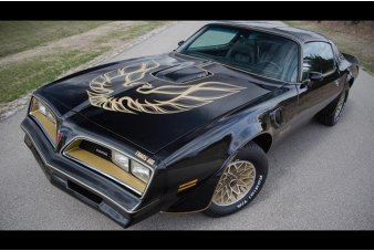 "1977 Pontiac Firebird Trans Am: The Star of ""Smokey and the Bandit"""