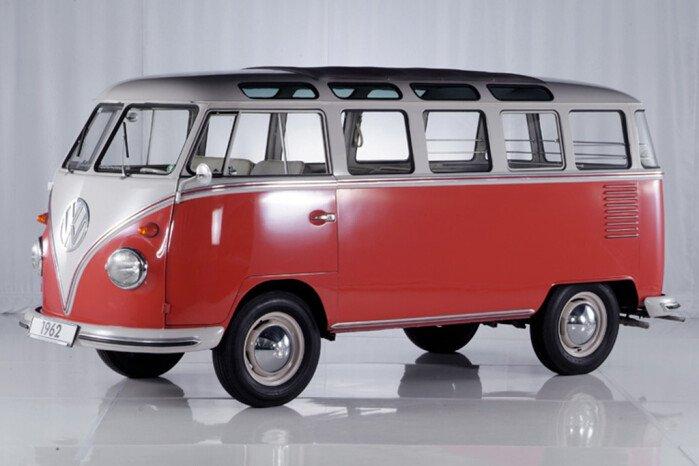VW Kombi Van Seeing Resurgence in Popularity